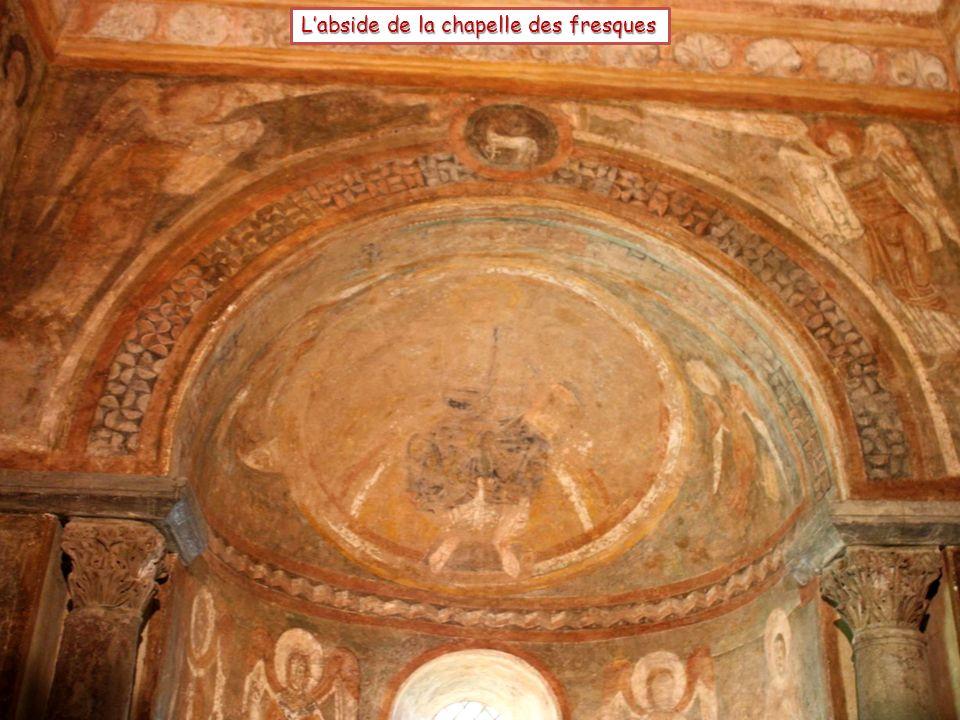 Labside de la chapelle des fresques