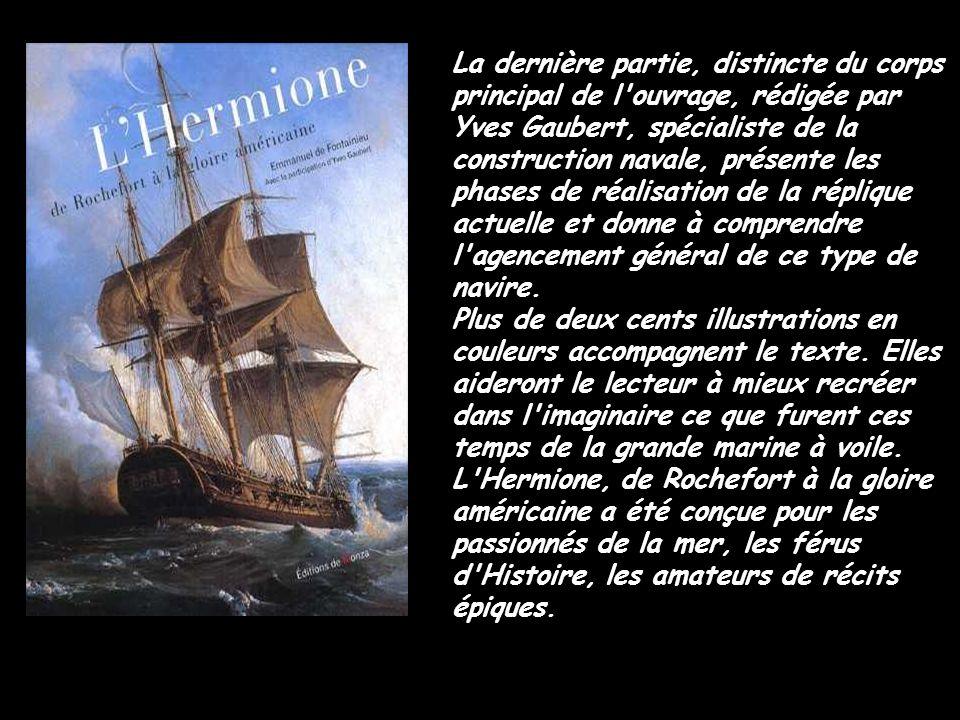 Les voiles de l Hermione à l horizon Les voiles de lHermione à lHorizon