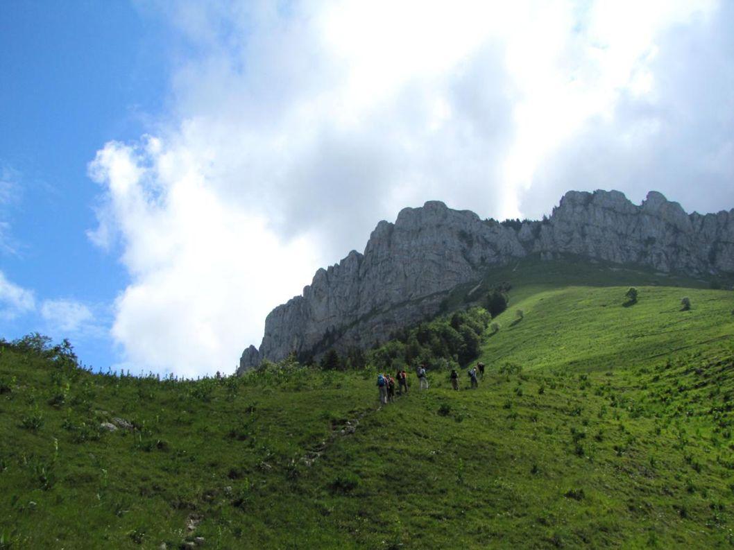 Au fond le Col de Bovidant