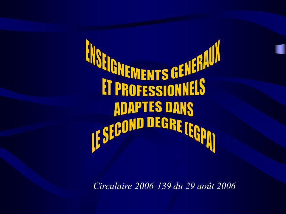 Circulaire 2006-139 du 29 août 2006