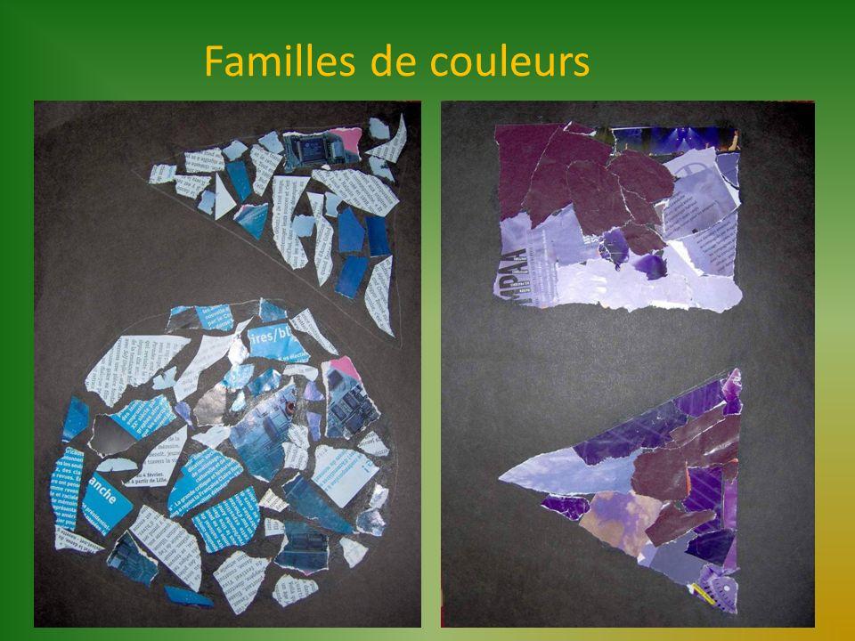 Familles de couleurs