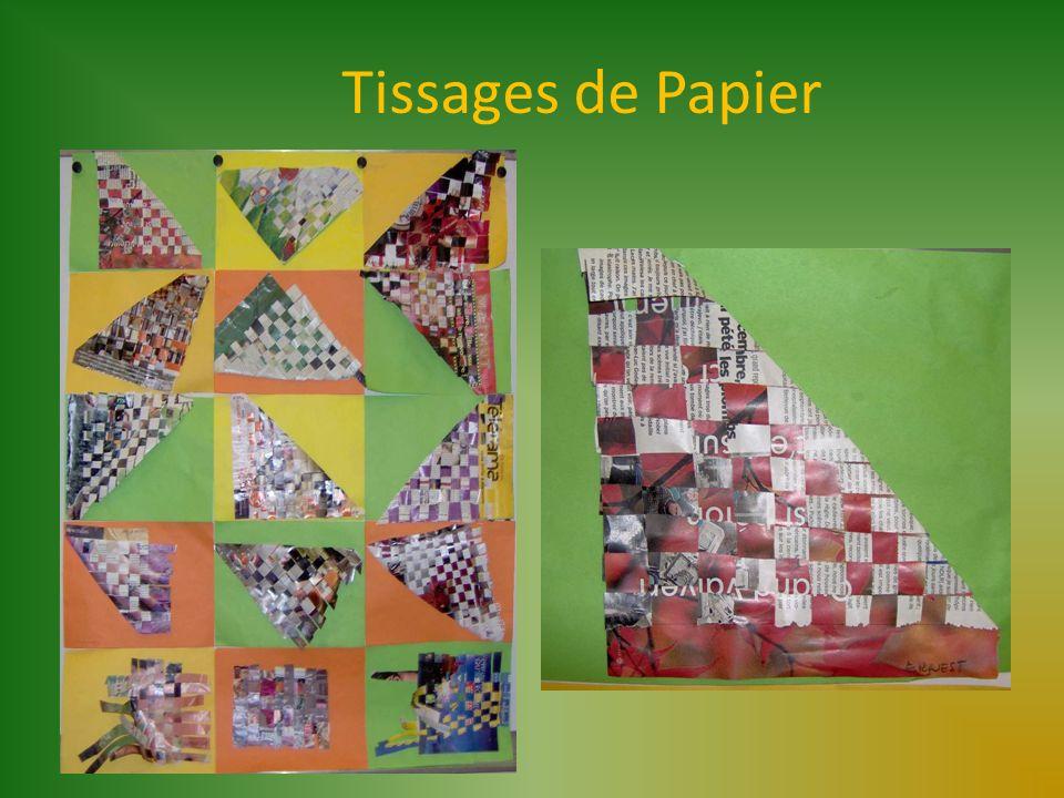 Tissages de Papier
