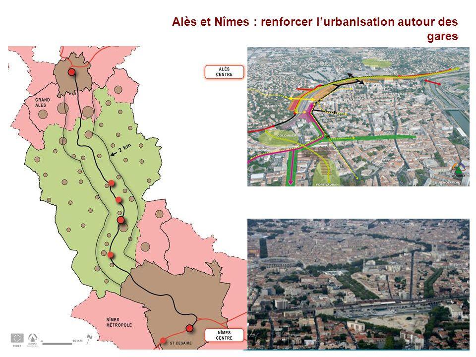 Alès et Nîmes : renforcer lurbanisation autour des gares