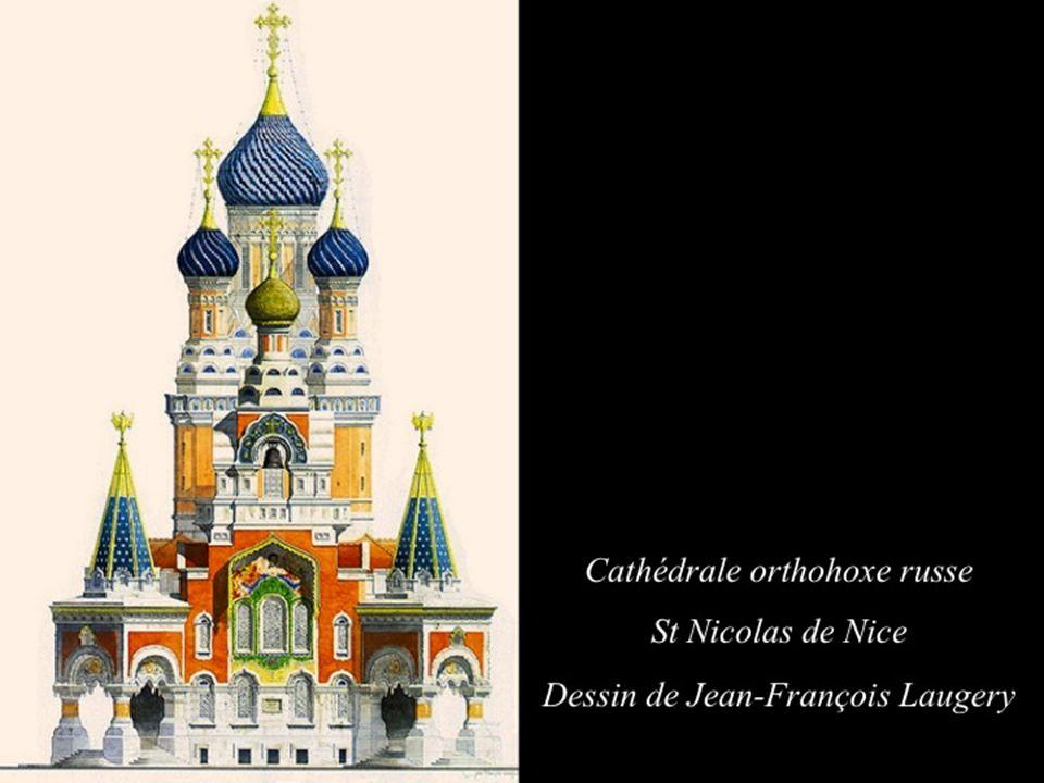 Mettre le son et laisser défiler Cathédrale orthohoxe russe St Nicolas de Nice Château La Tour Temple de lamour Le Palais de marbre Manoir Leliwa de R