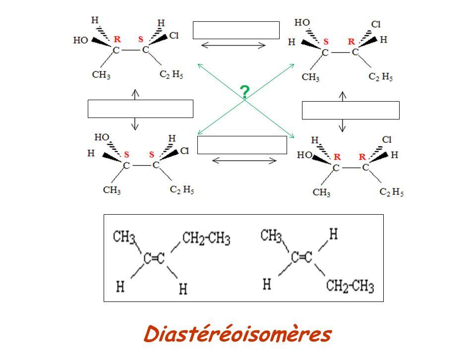 Diastéréoisomères ?