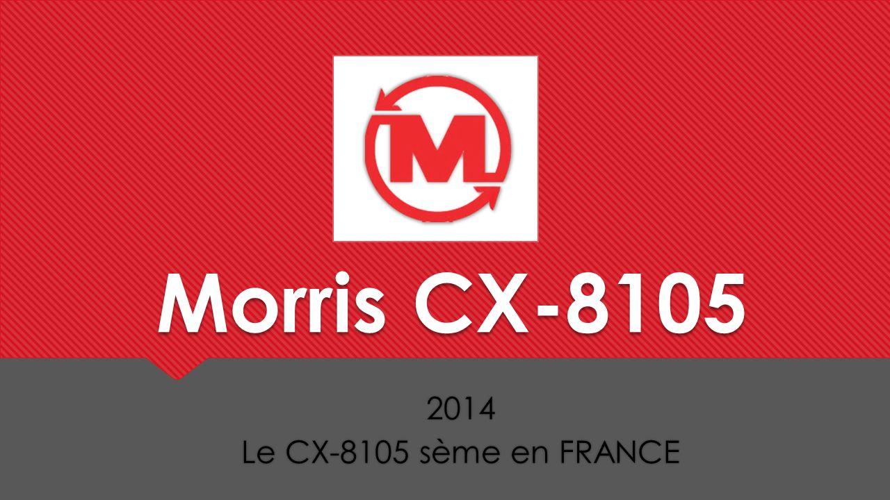 2014 Le CX-8105 sème en FRANCE 2014 Le CX-8105 sème en FRANCE Morris CX-8105