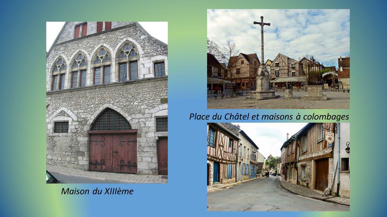 la Grange aux Dîmes 13éme siècle, ancienne maison de marchand.