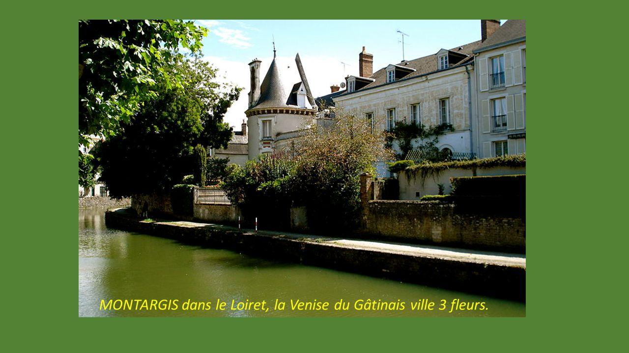 MORET sur Loing, localité verdoyante, proche de Fontainebleau. Un beau détour. Prieuré Saint Loup