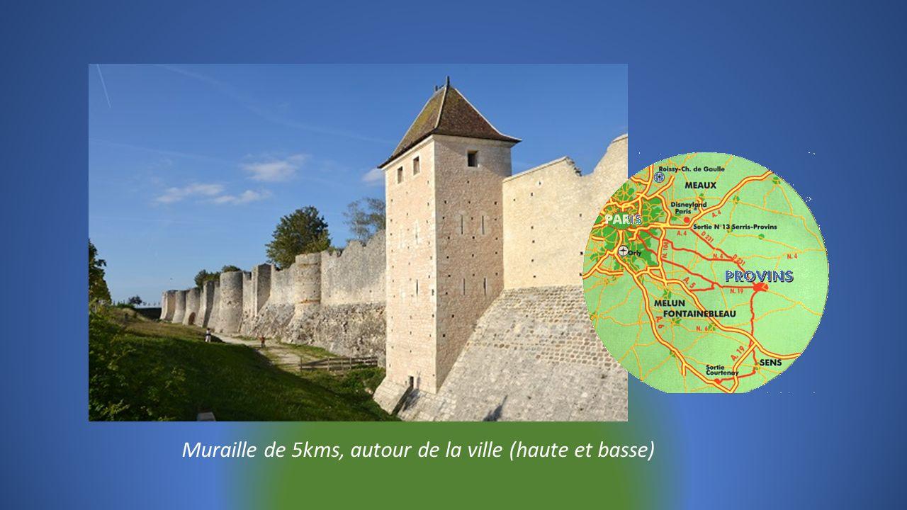 PROVINS en Seine et Marne, cité médiévale Inscrite depuis 2001 au Patrimoine Mondial de lUnesco avec 58 monuments classés