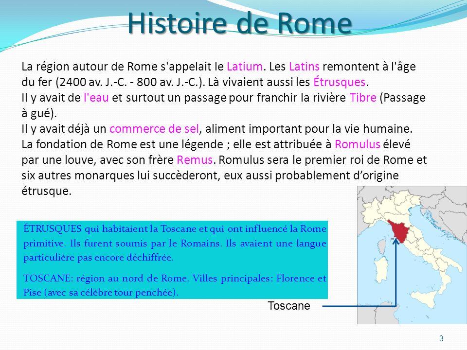 Histoire de Rome 3 ÉTRUSQUES qui habitaient la Toscane et qui ont influencé la Rome primitive.