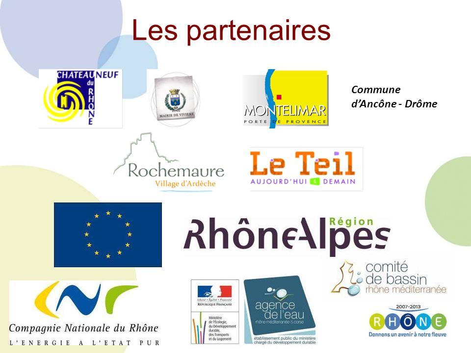 Les partenaires Commune dAncône - Drôme