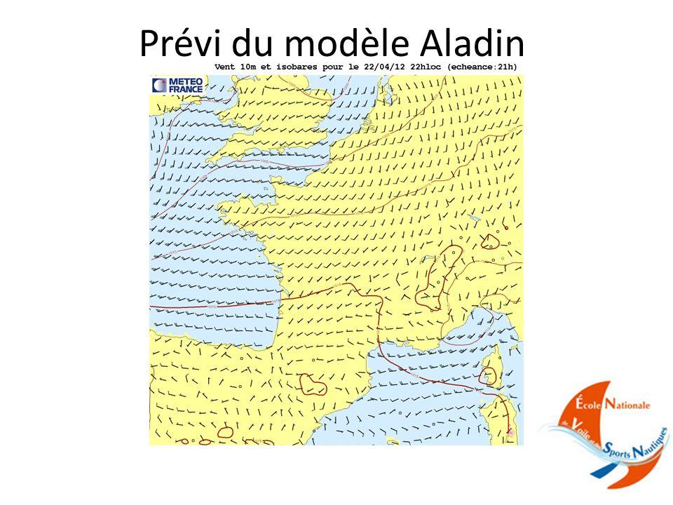 Prévi du modèle Aladin
