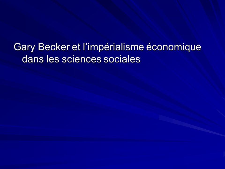 2) Quelles sont les méthodes utilisées par les économistes .