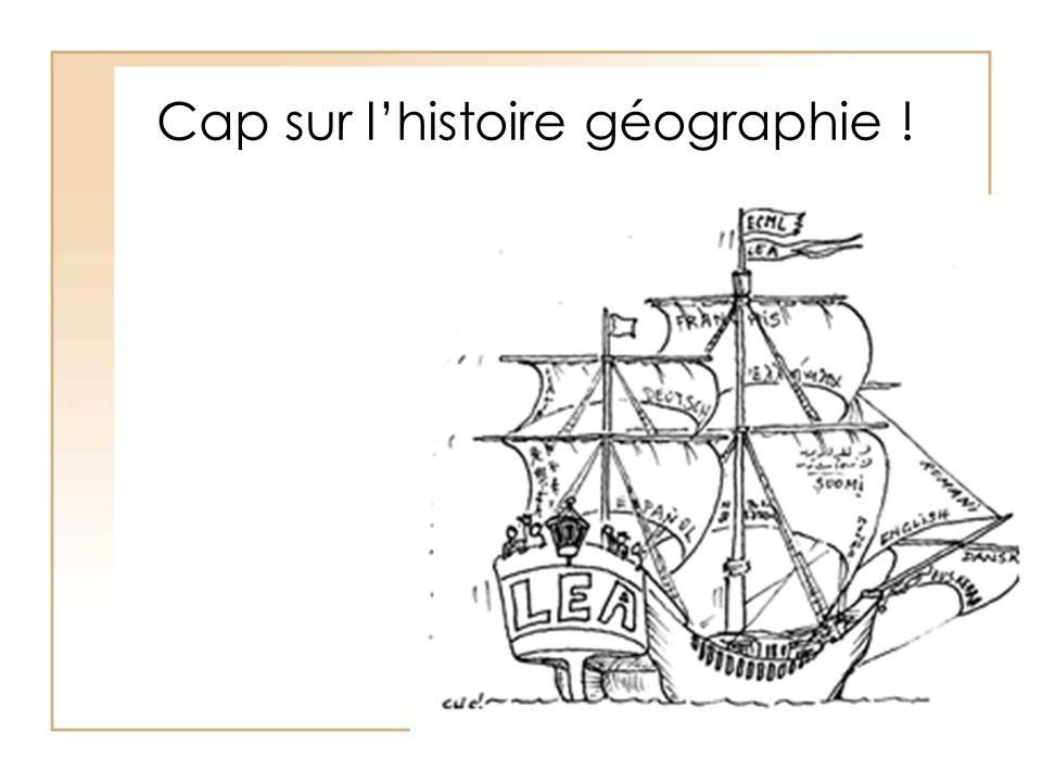 Cap sur lhistoire géographie !