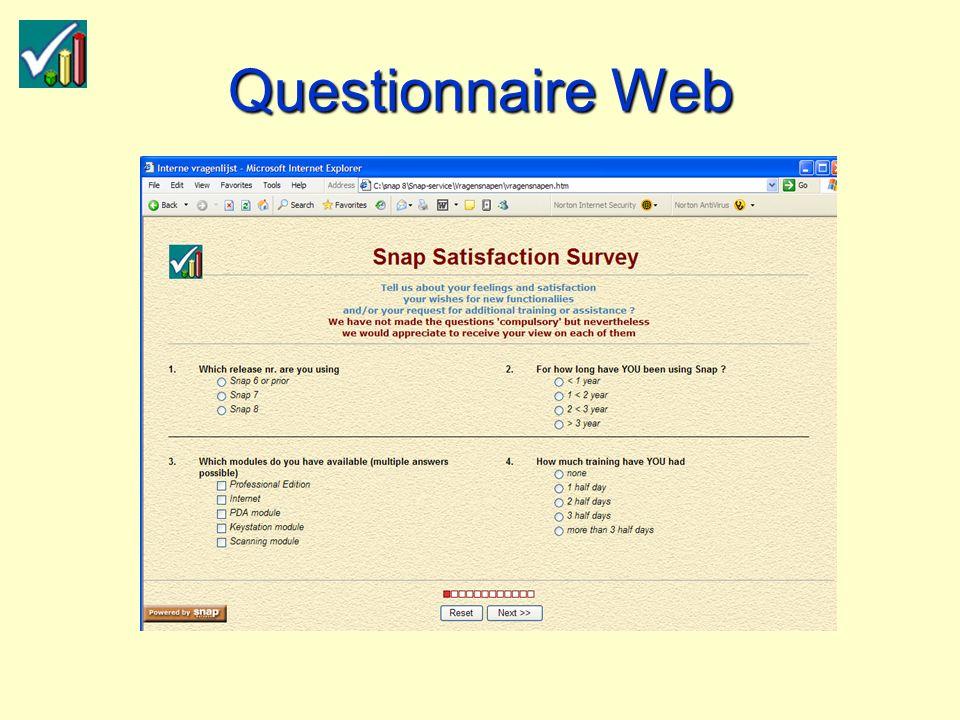 Questionnaire Web