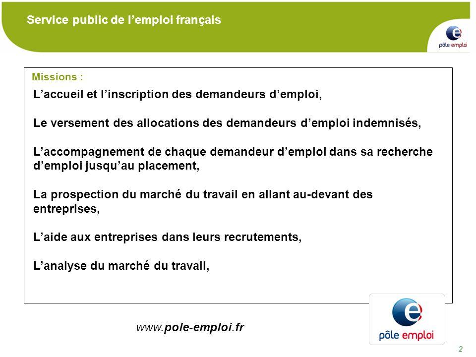 23 Nos sites internet pour se renseigner : Merci de votre attention www.pole-emploi.fr www.pole-emploi.org www.pole-analyse-emploi.fr webtv.pole-emploi.fr