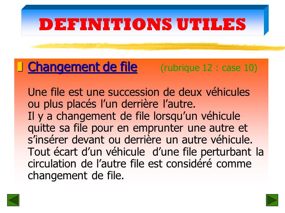 DEFINITIONS UTILES zLieu privé zLieu privé (rubrique 12 : case 4) - Cest un lieu interdit à la circulation publique et annoncé comme tel par un pannea