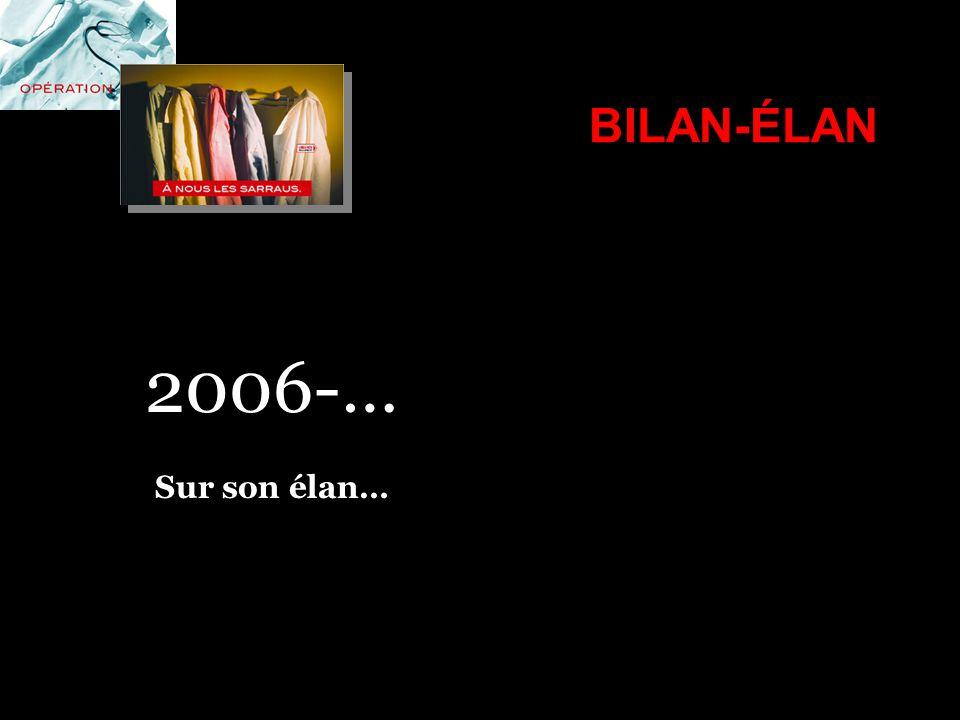 BILAN-ÉLAN 2006-… Sur son élan…