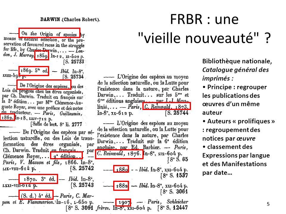 5 FRBR : une