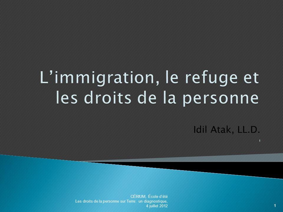 Idil Atak, LL.D.