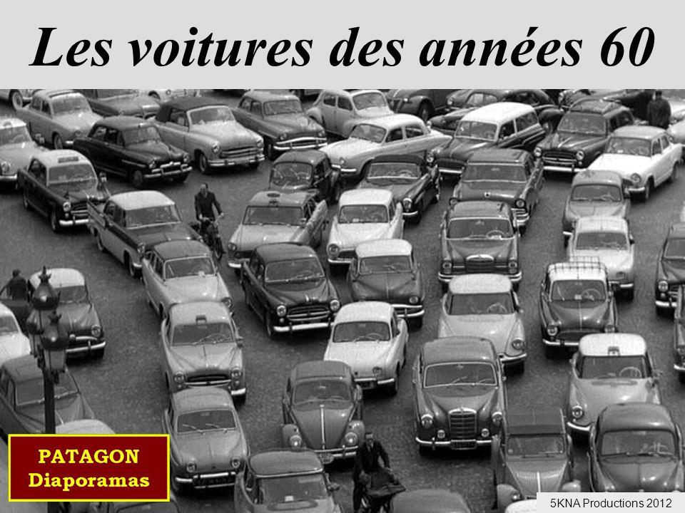 Les voitures des années 60 5KNA Productions 2012