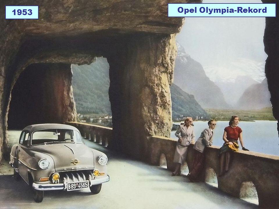 1953 Opel Olympia-Rekord