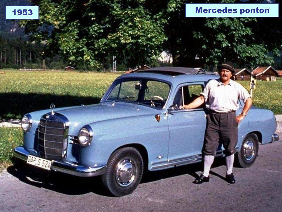 1953 Mercedes ponton