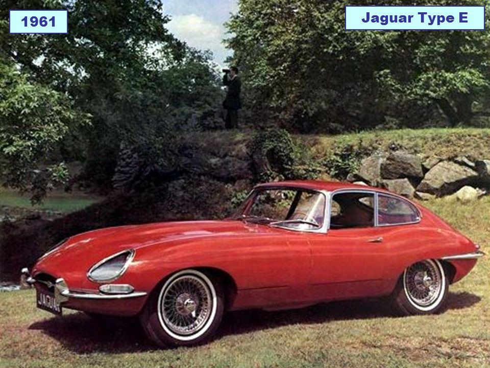 1961 Jaguar Type E