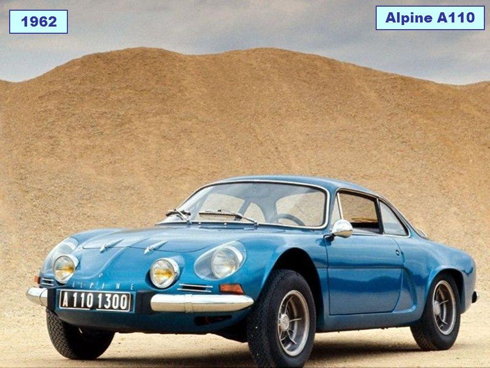 1962 Alpine A110