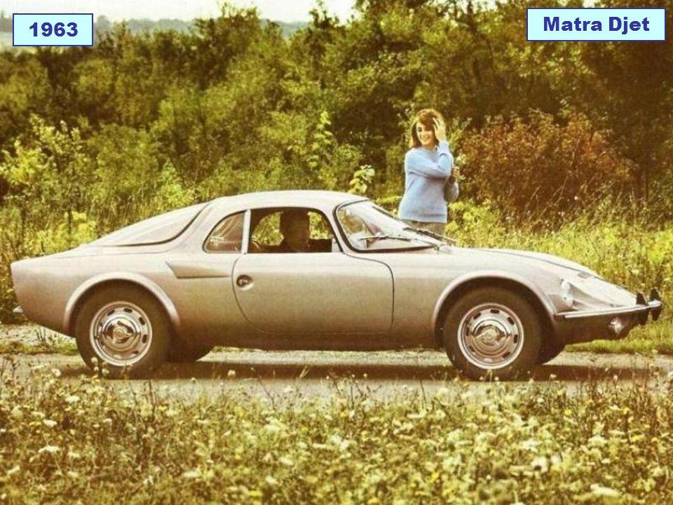 1963 Matra Djet