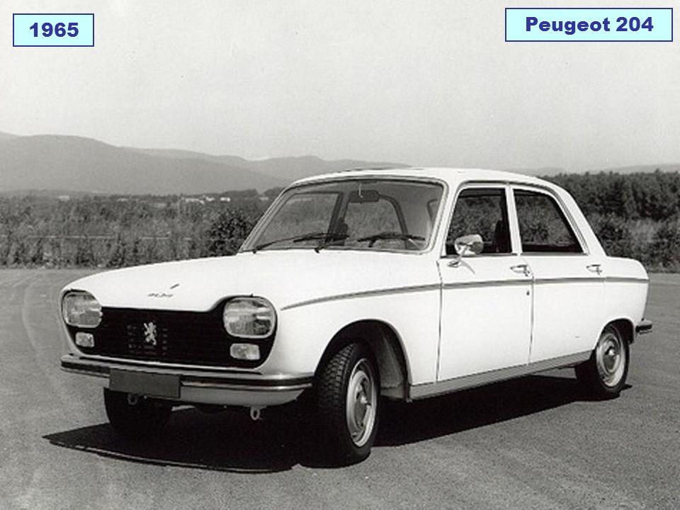 1965 Peugeot 204