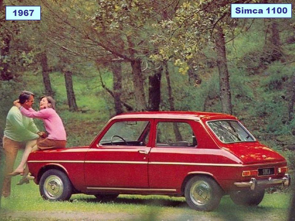 1967 Simca 1100