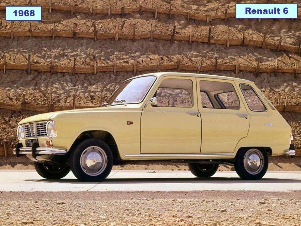 1968 Renault 6
