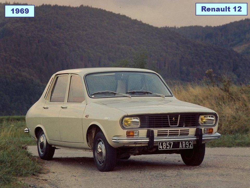 1969 Renault 12