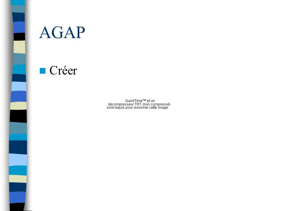 AGAP Créer