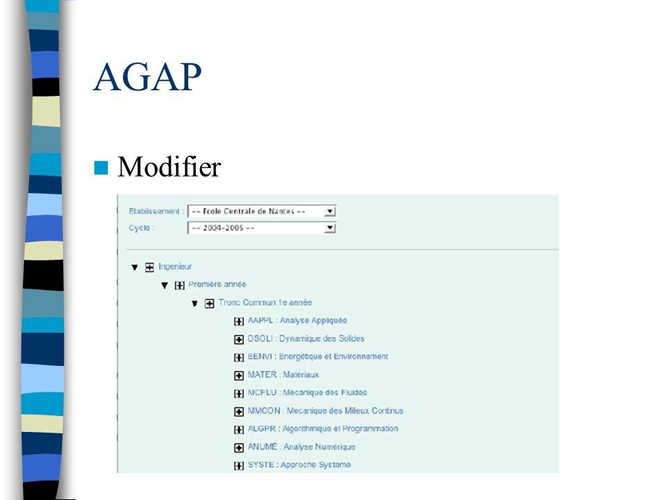 AGAP Modifier