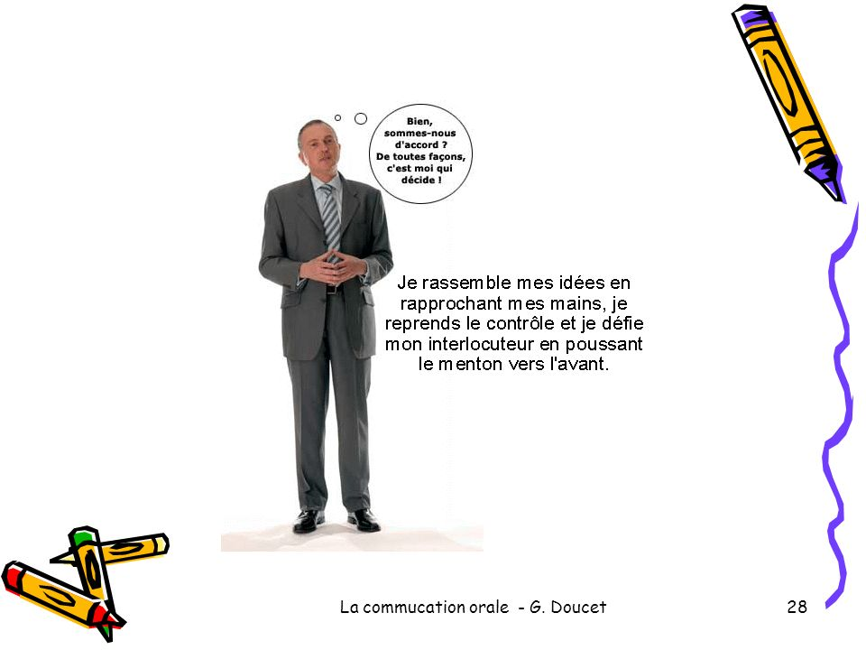 La commucation orale - G. Doucet28