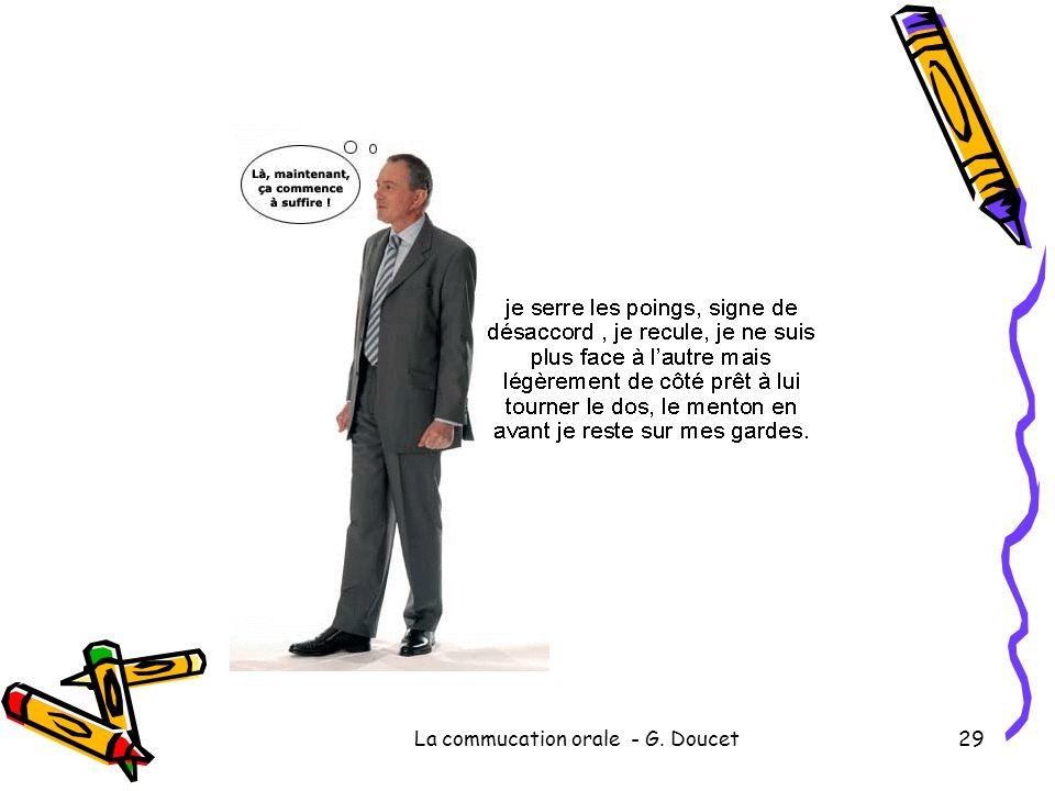 La commucation orale - G. Doucet29