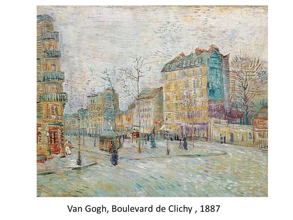 Van Gogh, Boulevard de Clichy, 1887