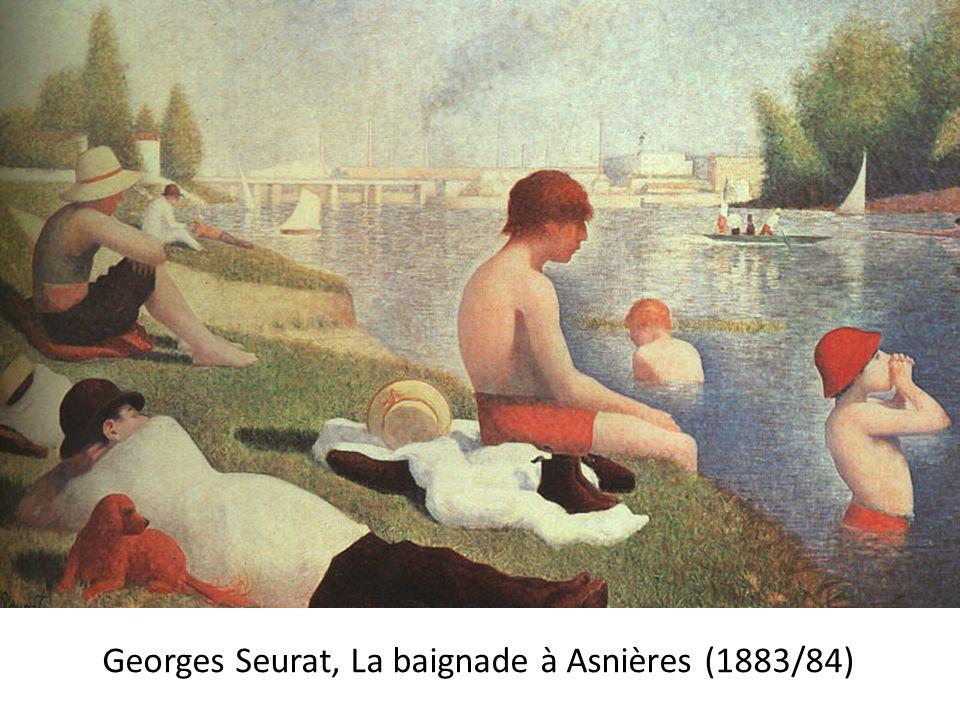 Dautres peintres impressionnistes et postimpressionnistes sessayèrent à la méthode, tel Camille Pissarro (1892)…