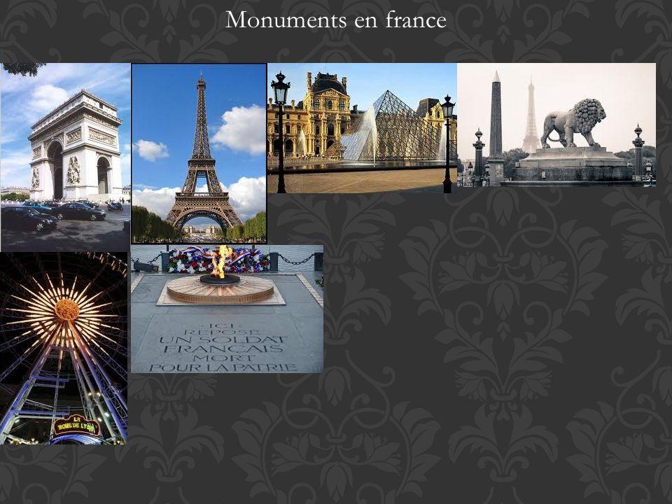 Monuments en france
