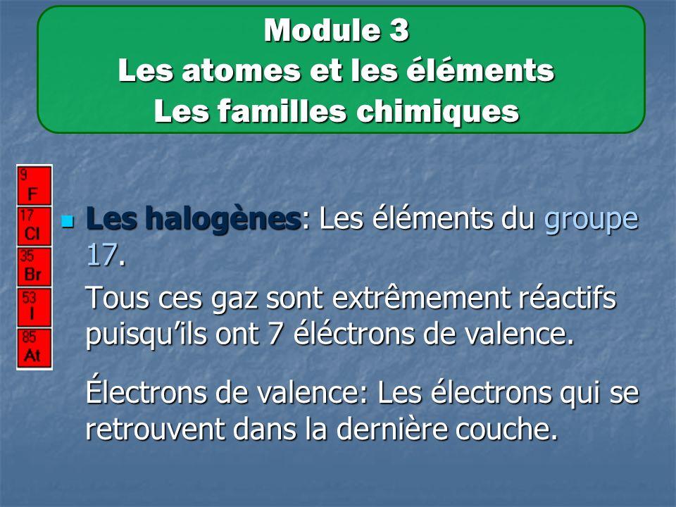 Les halogènes: Les éléments du groupe 17.Les halogènes: Les éléments du groupe 17.