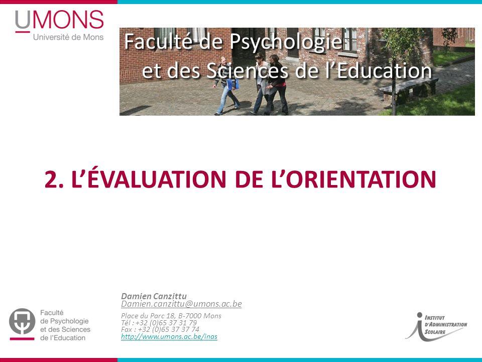 Université de Mons Damien Canzittu | Méthodologie et Formation / INAS - Service du Prof.