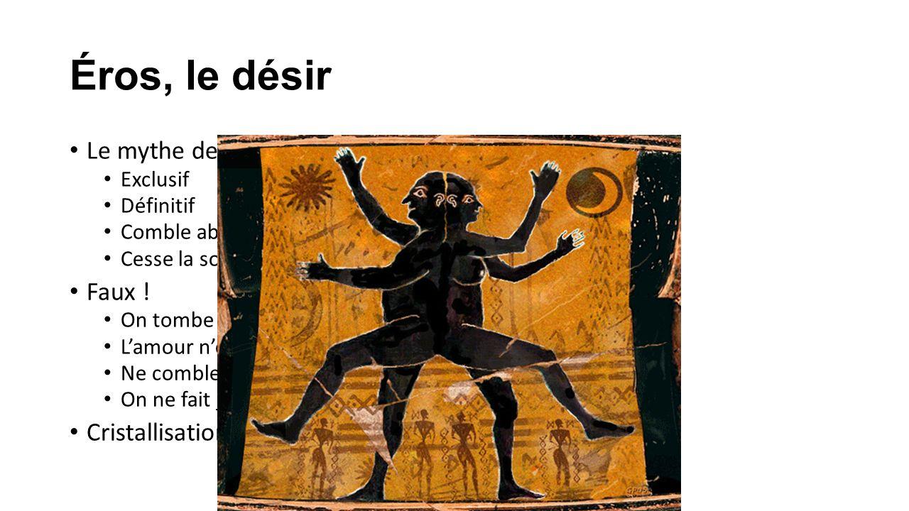 Éros, le désir Le mythe de landrogyne Exclusif Définitif Comble absolument Cesse la solitude Faux .