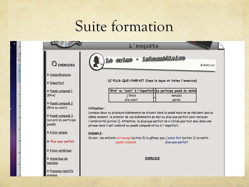 Suite formation