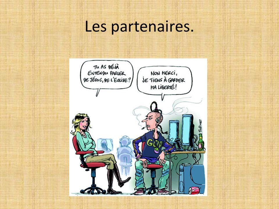 Les partenaires.