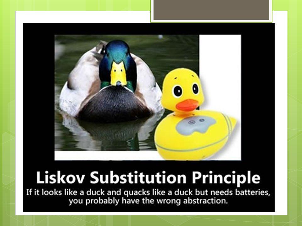 La substitution de Liskov