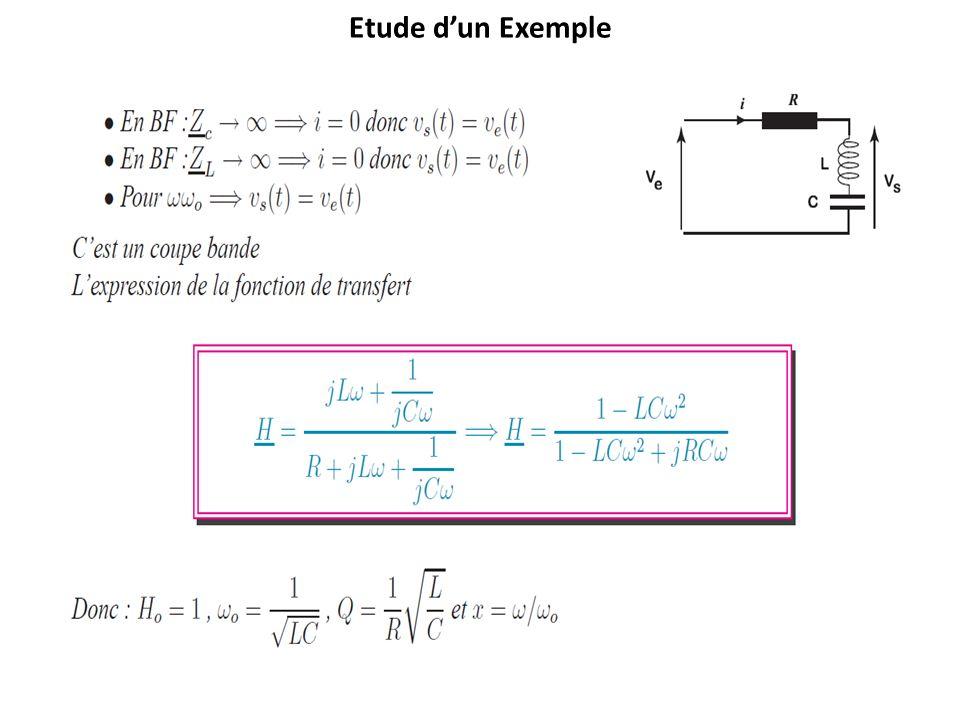 Etude dun Exemple