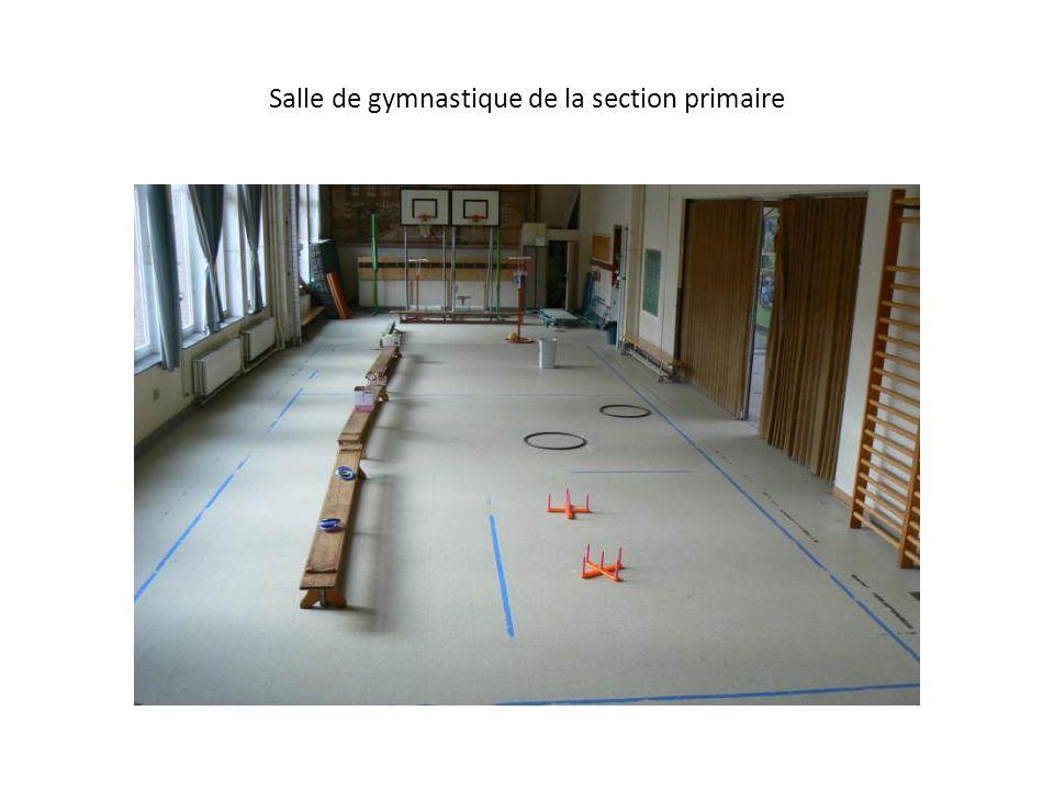 Salle de gymnastique de la section primaire