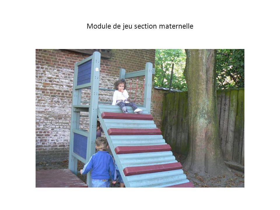 Module de jeu section maternelle